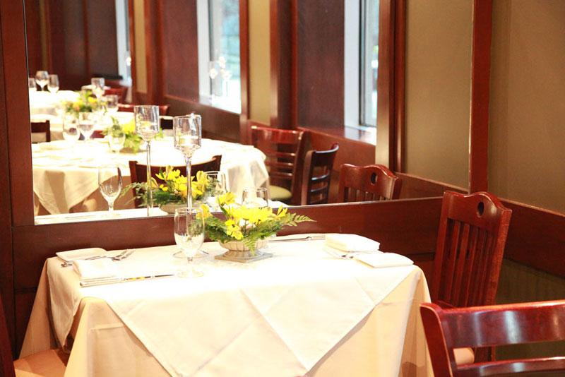 cesco osteria fine dining room
