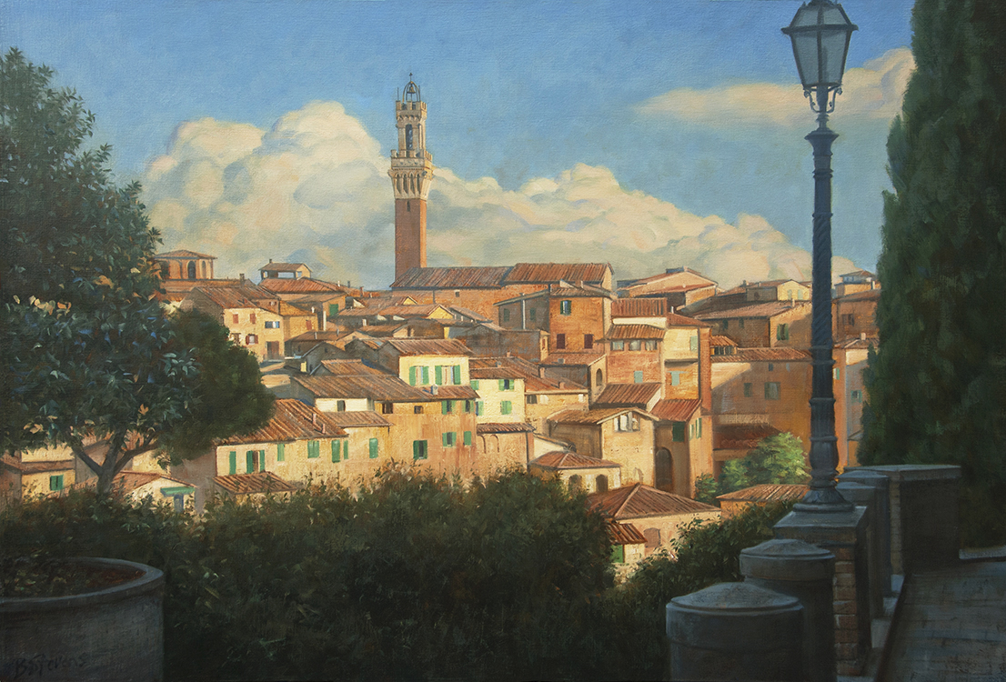 Approach to Siena